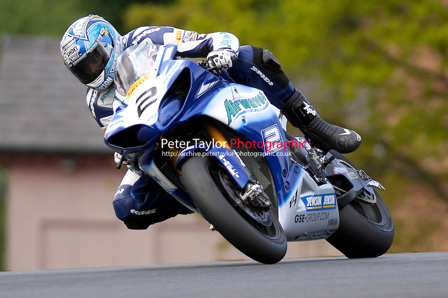 Leon Camier – Airwaves Yamaha – Oulton Park May 2009