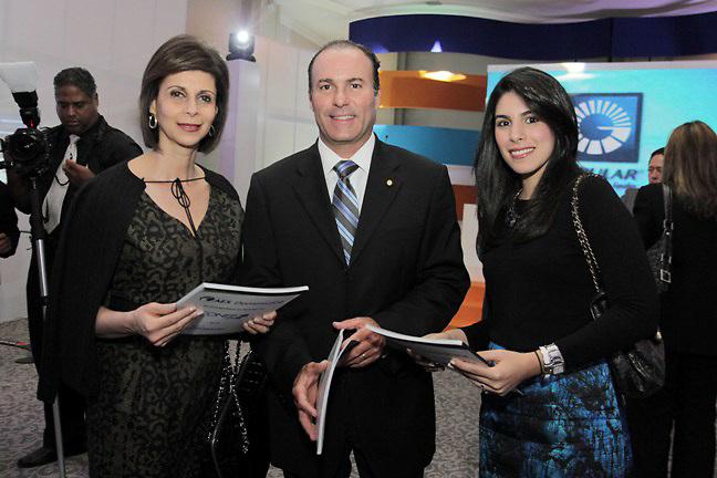 Patricia de Moya, Felipe Pagés y Sarah de Moya