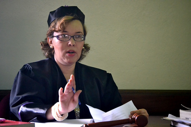 Jueza Clara Vargas