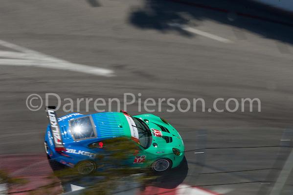#17 Team Falken Tire Porsce 911 RSR: Wolf Henzler, Bryan Sellers (Darren Pierson)