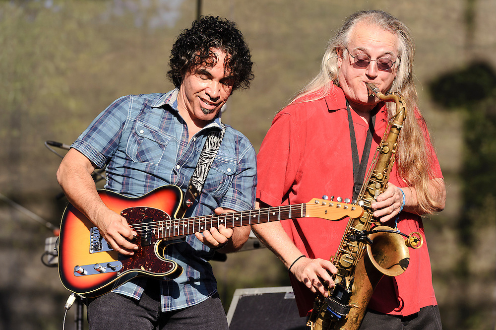 Photos of Daryl Hall and John Oates performing at The Great GoogaMooga festival at Prospect Park in Brooklyn, NY. May 20, 2012. Copyright © 2012 Matthew Eisman. All Rights Reserved. (Photo by Matthew Eisman/WireImage)