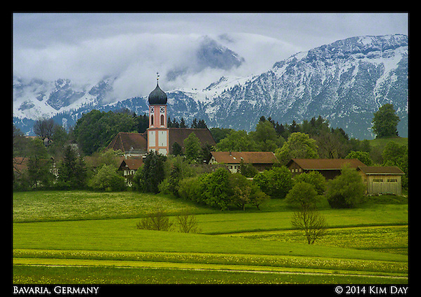 Bavarian Countryside Near Munich Germany May 2014 (Kim Day)