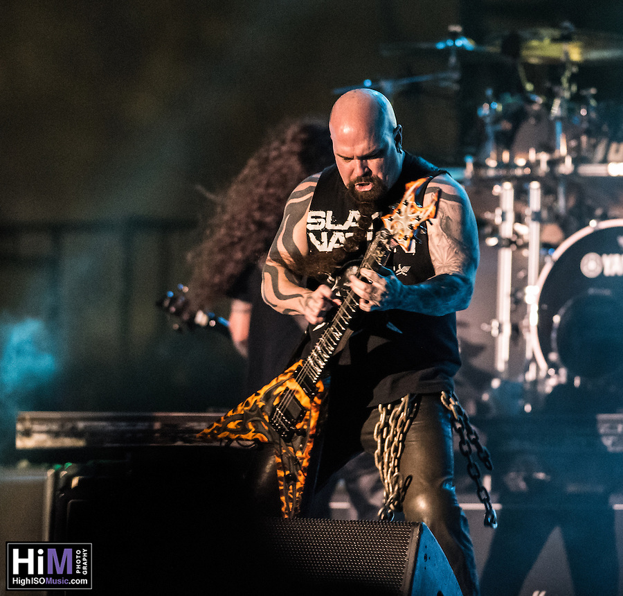 Slayer performs at the 2014 Voodoo Music Experience in New Orleans, LA. (HIGH ISO Music, LLC)