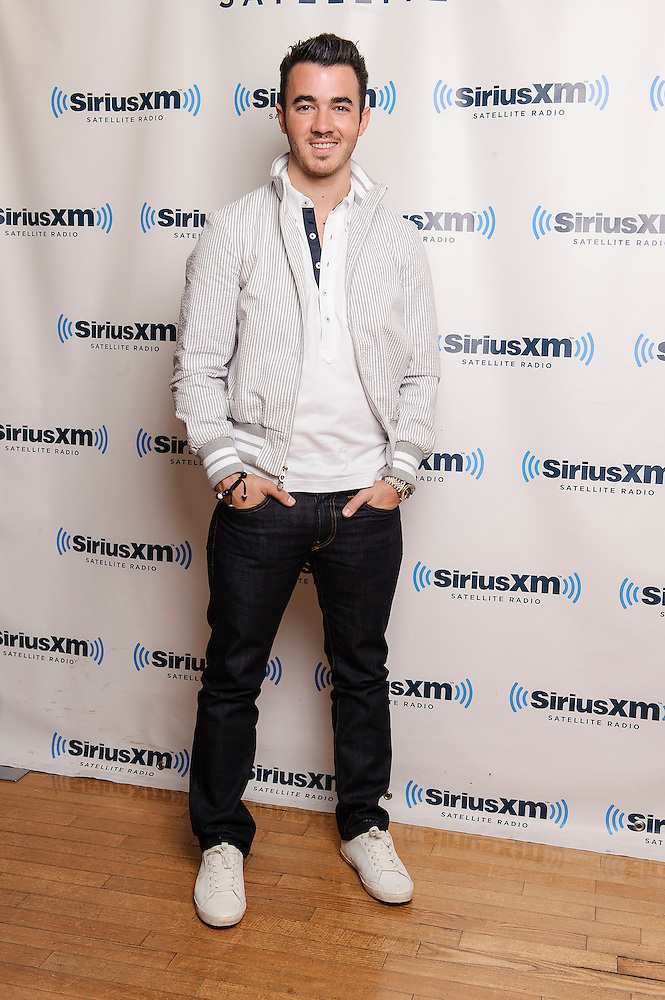 Portraits of the musician Kevin Jonas at SiriusXM Studios, NYC. August 14, 2012. Copyright © 2012 Matthew Eisman. All Rights Reserved. (Photo by Matthew Eisman/ Getty Images)