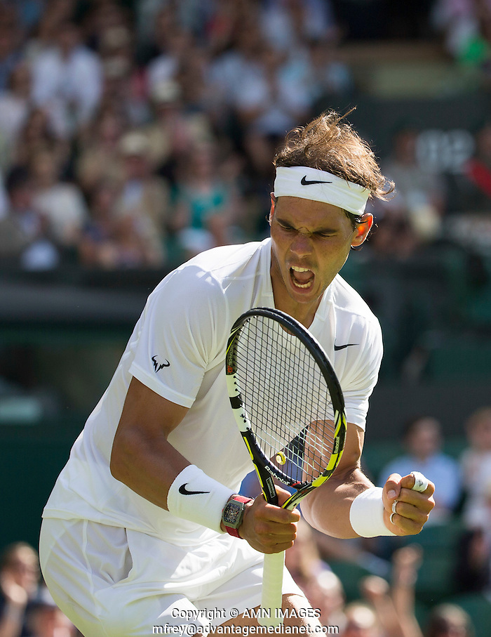 RADAEL NADAL (ESP) The Championships Wimbledon 2014 - The All England Lawn Tennis Club -  London - UK -  ATP - ITF - WTA-2014  - Grand Slam - Great Britain -  24th June 2014.  © AMN IMAGES (FREY/FREY- AMN Images)