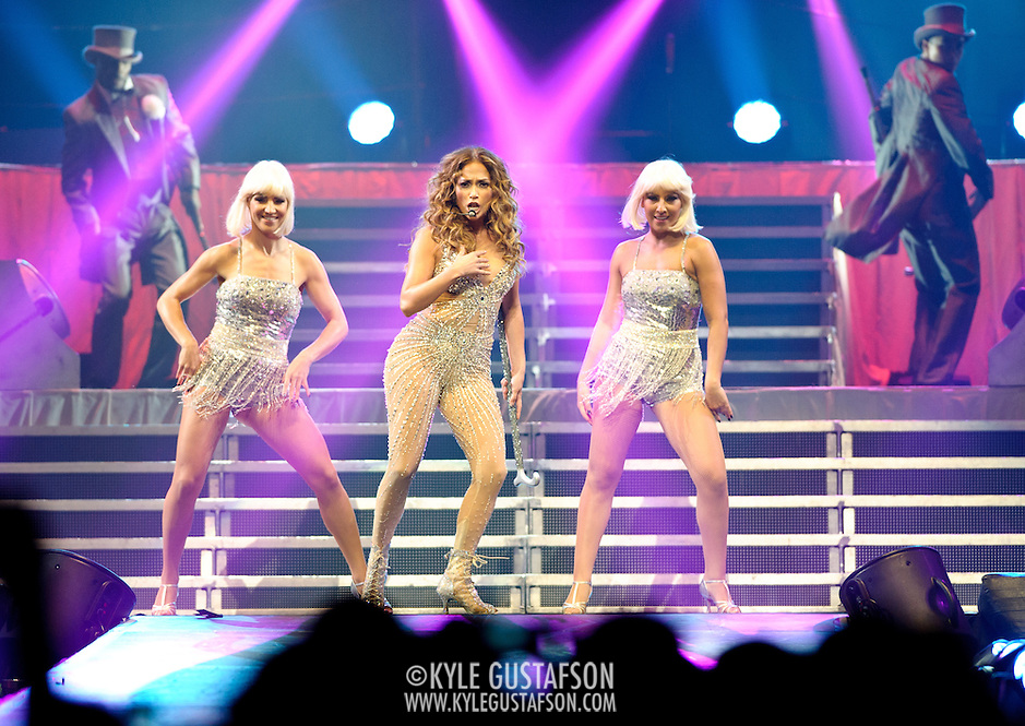 "WASHINGTON, DC - July 28th - Pop superstar Jennifer Lopez performs at the Verizon Center as part of her ""Dance Again"" world tour. (photo by Kyle Gustafson) (Photo by Kyle Gustafson)"