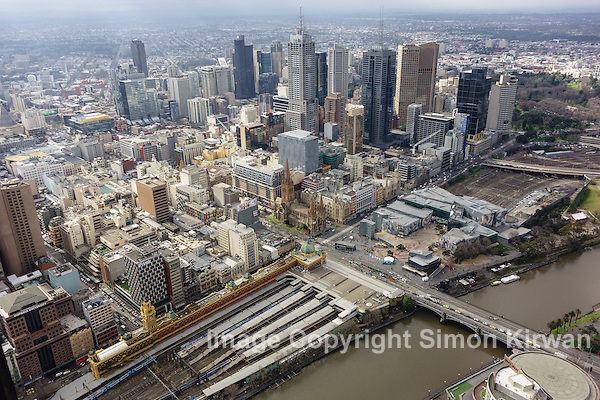 Melbourne, Australia from Eureka Skydeck 88 - Photo By Simon Kirwan