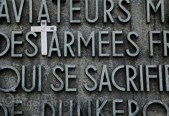 21 MAY 2011 - DUNKERQUE, FRA - The Dunkirk Memorial remembering those who lost their lives during the evacuation of members of the British, French and other allied forces from the beaches at Dunkerque in May and June 1940 during the Second World War (PHOTO (C) NIGEL FARROW) (NIGEL FARROW/(C) 2011 NIGEL FARROW)