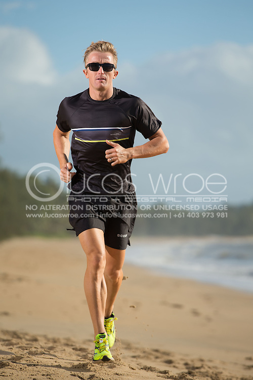 Matty White (AUS), June 6, 2014 - TRIATHLON : SCODY ATHLETES / Cairns Airport Adventure Festival, Clifton Beach, Cairns, Queensland, Australia. Credit: Lucas Wroe (Lucas Wroe)