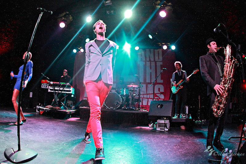 Fitz and the Tantrums  performs on January 20th, 2011 at the Showbox Market in Seattle, Washington (Elisa Sherman)