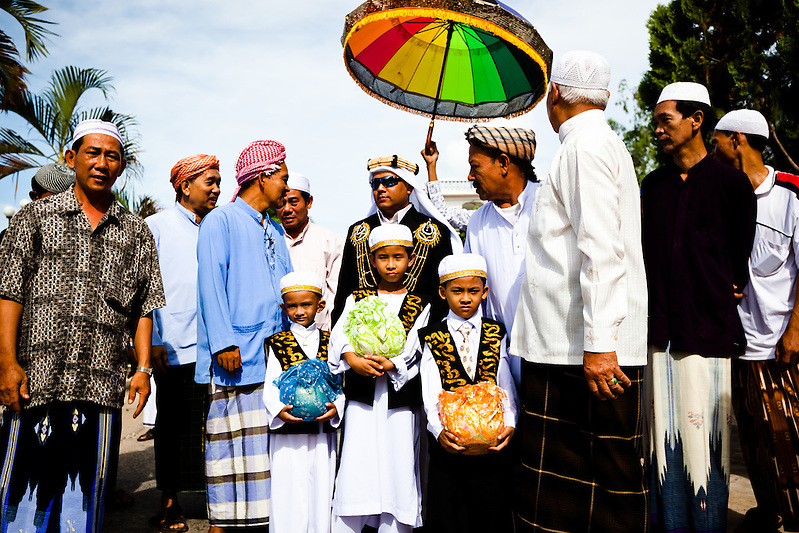 A Cham Muslim wedding in a small village near Chau Doc, Vietnam. (Quinn Ryan Mattingly)