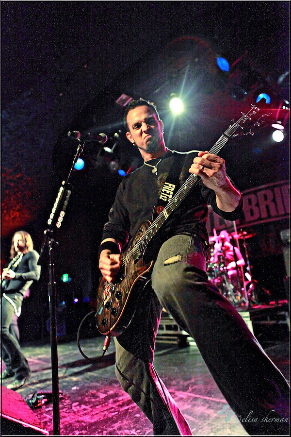 "Mark Tremonti  of Alter Bridge performs on January 1st, 2011 in support of CD ""AB III""  at the Showbox Market in Seattle, Washington (Elisa Sherman)"