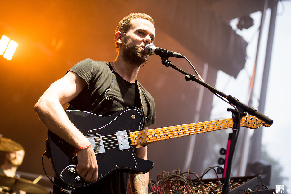 M83 performs at HARD Toronto at historic Fort York. August 4, 2012. Copyright © 2012 Chris Owyoung. (Chris Owyoung)
