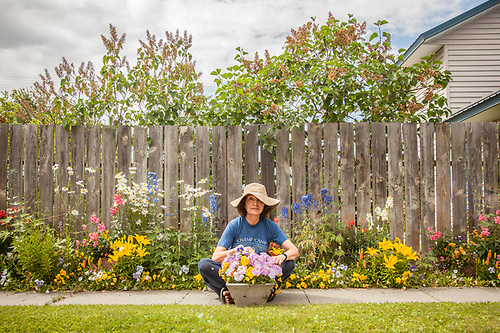 South Addition Neighbor and master gardener, Deborah Williams (© Clark James Mishler)