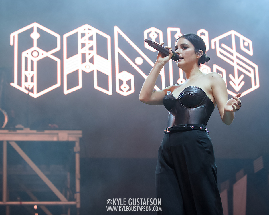 COLUMBIA, MD - May 31, 2015 - Banks performs at the 2015 Sweetlife Festival at Merriweather Post Pavilion in Columbia, MD. (Photo by Kyle Gustafson / For The Washington Post) (Kyle Gustafson/For The Washington Post)