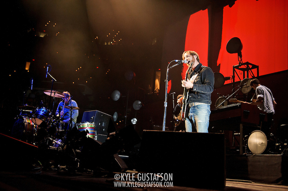 WASHINGTON, DC - March 9th, 2012 -  The Black Keys performs during a sold out show at the Verizon Center in Washington, D.C.  The duo's seventh studio album, El Camino, was released last December and debuted at number 2 of the Billboard 200. (Photo by Kyle Gustafson/For The Washington Post) (Kyle Gustafson/FTWP)
