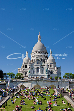 Sacre Couer Paris France in May 2008 (Christopher Holt LTD - LondonUK, Christopher Holt LTD/Image by Christopher Holt - www.christopherholt.com)