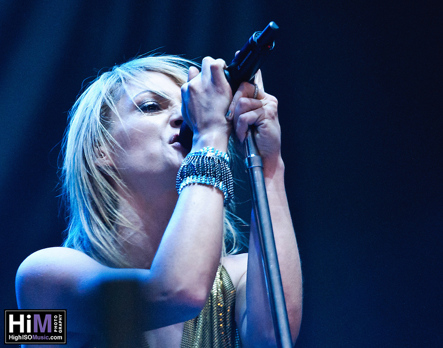 Metric playing on Day 1 of Voodoo Festival 2010 in New Orleans. (Golden G. Richard III)