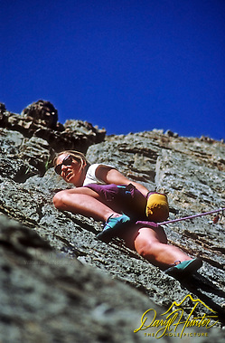 Mountain Climber, Jackson Hole, Wyoming