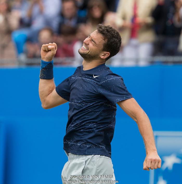 GRIGOR DIMITROV (BUL) Aegon Championships 2014 - Queens Club -  London - UK -  ATP - ITF - 2014  - Great Britain -  15th June 2014.  © AMN IMAGES (FREY/FREY- AMN Images)