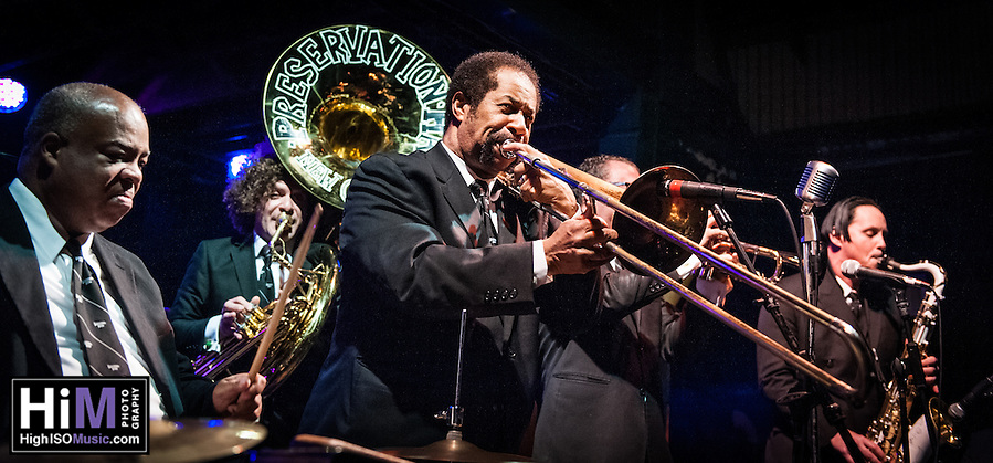 The Preservation Hall Jazz Band opens for B.B. King at Tipitinas in New Orleans, LA. (HIGH ISO Music)