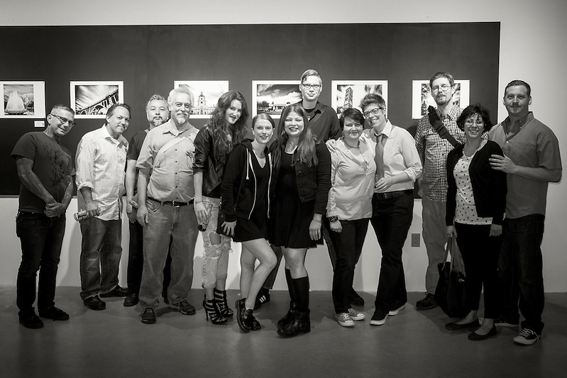 Artist Reception at Fathom Gallery in Los Angeles (REBECCA JOYCE)