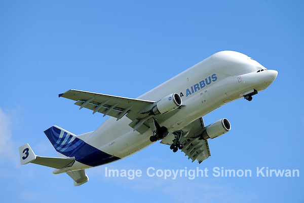 Airbus A300-600ST Beluga Taking Off from Broughton - Photo By Simon Kirwan