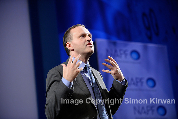 Steve Webb MP Minister for Pensions NAPF 2013 Manchester Central Convention Complex - Photo By Simon Kirwan