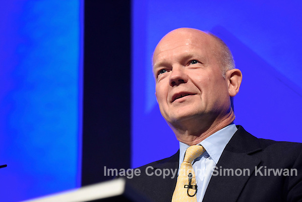 William Hague, The Right Honourable The Lord Hague of Richmond - Photo By Simon Kirwan