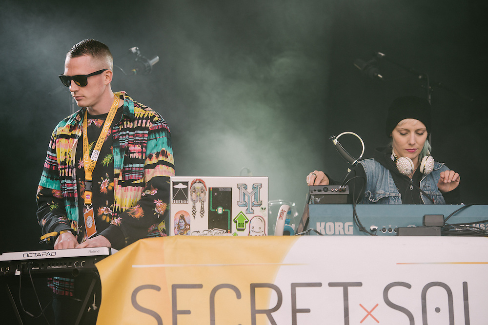Photos of Tanya & Marlon performing live at Secret Solstice Music Festival 2014 in Reykjavík, Iceland. June 22, 2014. Copyright © 2014 Matthew Eisman. All Rights Reserved (Matthew Eisman/Photo by Matthew Eisman)