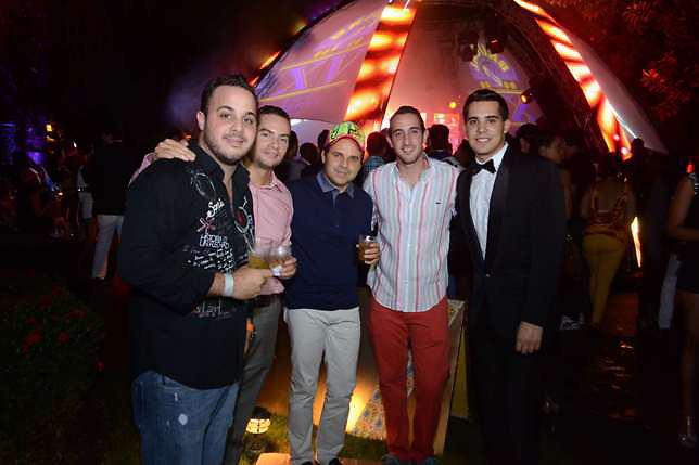 A Gabriel Czarlinski, Adalberto Rodriguez, Arturo Ciprian, Rancell Czarlinsky y Carlos García
