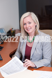 4/26/11 2:39:27 PM -- Blue Bell, Pa. -- Fox Rothschild Attorney Jennifer L. Schwartz at work in the Blue Bell, Pa. office April 26, 2011. -- Photo by William Thomas Cain/Cain Images for Fox Rothschild. (William Thomas Cain/Cain Images)