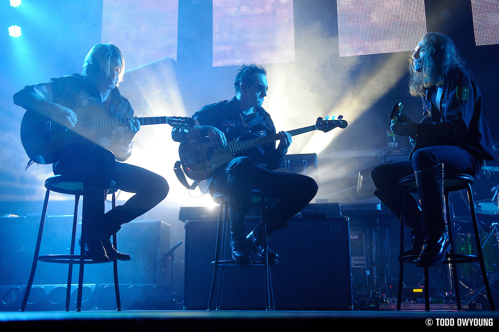 Pink Floyd tribute band El Monstero performing at the Pageant in St. Louis on December 16, 2011. (Todd Owyoung)