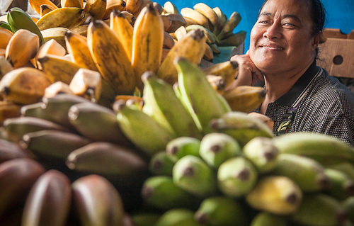 Lolita Tuifua, Farmer's Market, Hilo, Hawaii (Clark James Mishler)