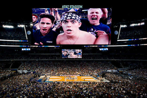 2014 NCAA Basketball Championship. © 2014 Darren Carroll (Darren Carroll)