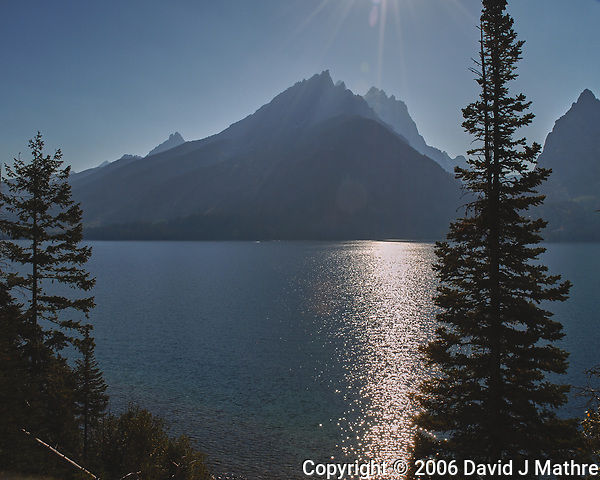 Late Afternoon at Jenny Lake. Image taken with a Nikon D200 camera and 18-75 mm kit lens (ISO 100, 18 mm, f/10, 1/400 sec). (David J Mathre)
