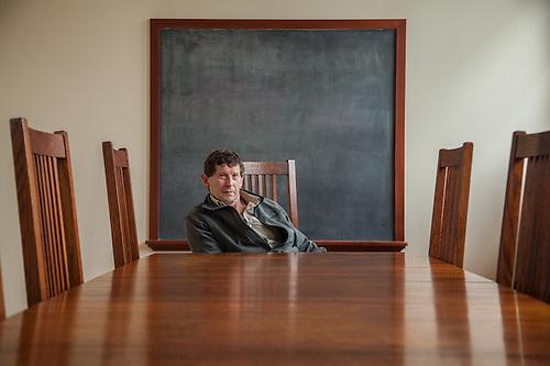 Roger Schmidt, Director, Sitka Fine Arts Camp (Clark James Mishler)
