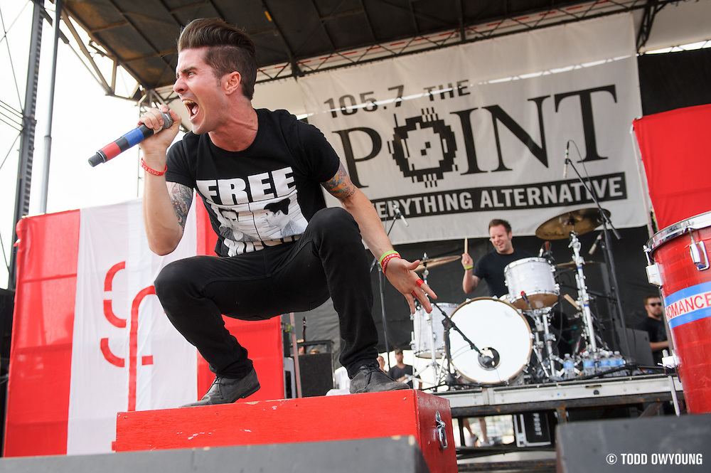 Greek Fire performing at Pointfest 30 on May 19, 2012. (TODD OWYOUNG)