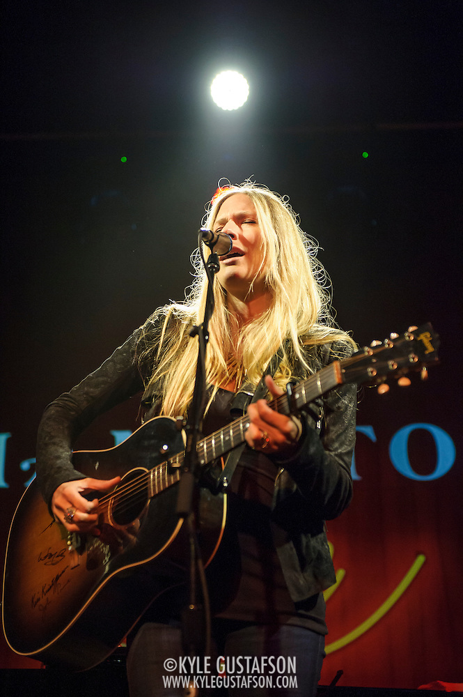 WASHINGTON, DC - May 29th, 2014 - Holly Williams performs at The Hamilton in Washington, D.C. Williams,  the granddaughter of Hank Williams, Sr. and the daughter of Hank Williams, Jr., self-released her latest album and it reached No. 1 on the Billboard Heatseekers chart. (Photo by Kyle Gustafson / For The Washington Post) (Kyle Gustafson/For The Washington Post)