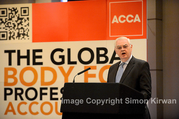 Lord Lamont Addresses ACCA Dinner, Free Trade Hall, Manchester 26.03.12 - photo by Simon Kirwan