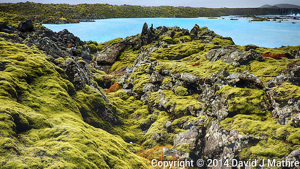 Trolls Lair. Moss Covered Lava Field Just Outside the Blue Lagoon in Iceland. Composite of 3 images taken with a Fuji X-T1 camera and 23 mm f/1.4 lens (ISO 200, 23 mm, f/11). Google HDR Efex Pro. (David J Mathre)