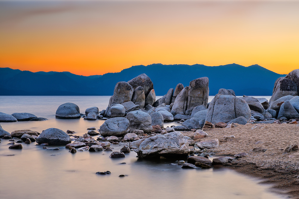 Zephyr Cove on the Nevada side of South Lake Tahoe, Nevada (Doug Oglesby)