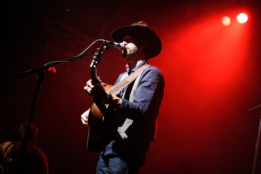 "Photos of Ryan Bingham performing live on the ""Fear and Saturday Night"" Tour 2016 at Irving Plaza, NYC on February 5, 2016. © Matthew Eisman/ Getty Images. All Rights Reserved (Photo by Matthew Eisman/ Getty Images)"