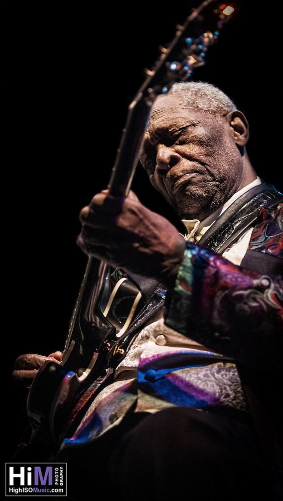 B. B. King and his Band Play Tipitinas in New Orleans, LA. (HIGH ISO Music)
