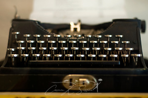 Southern writers: Faulkner's typewriter
