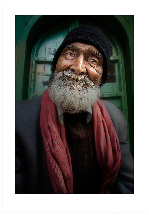 Street portrait, Chandni Chowk, Old Delhi, India ( 2013 Ian Mylam)