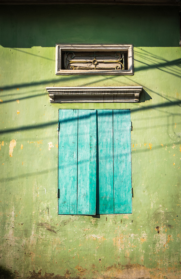 VAN HA, VIETNAM - CIRCA SEPTEMBER 2014: Typical window at he Lang Gom Tho Ha village. The village belongs to the Van Ha commune, it is located 50km away from Hanoi in Northern Vietman (Daniel Korzeniewski)