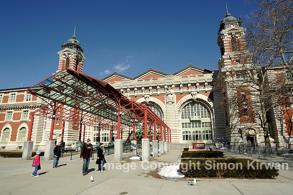 Ellis Island Immigration Museum New York Re-Opens After Hurricane - Photo By Simon Kirwan www.the-lightbox.com