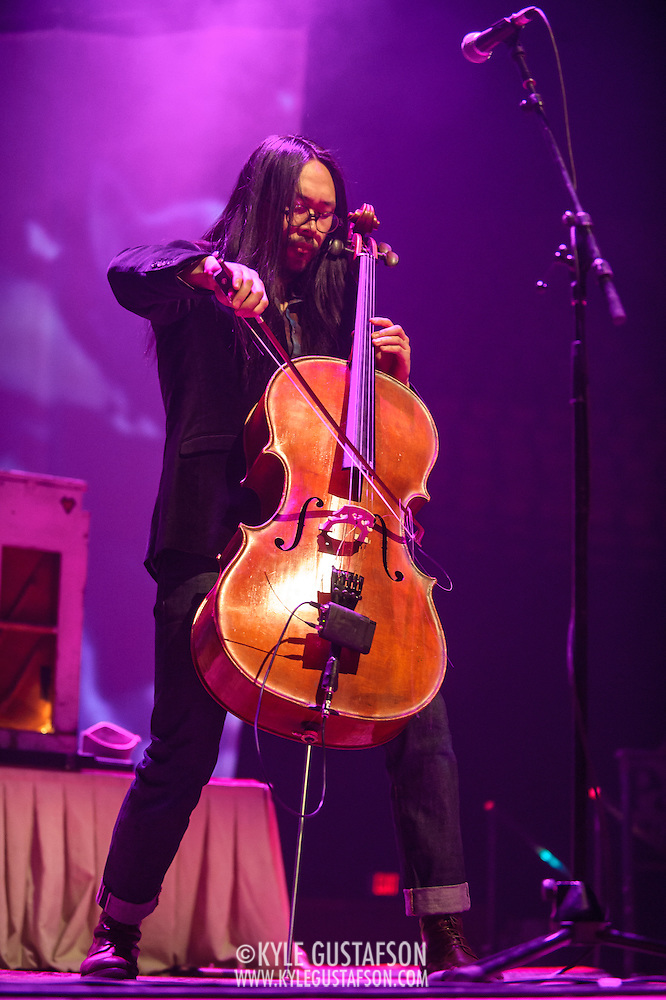 FAIRFAX, VA - February 28th, 2014 - The Avett Brothers perform at the Patriot Center in Fairfax, VA. Their latest album, Magpie and the Dandelion, reached #5 on the U.S. Billboard 200 chart. (photo by Kyle Gustafson / For The Washington Post) (Kyle Gustafson/For The Washington Post)