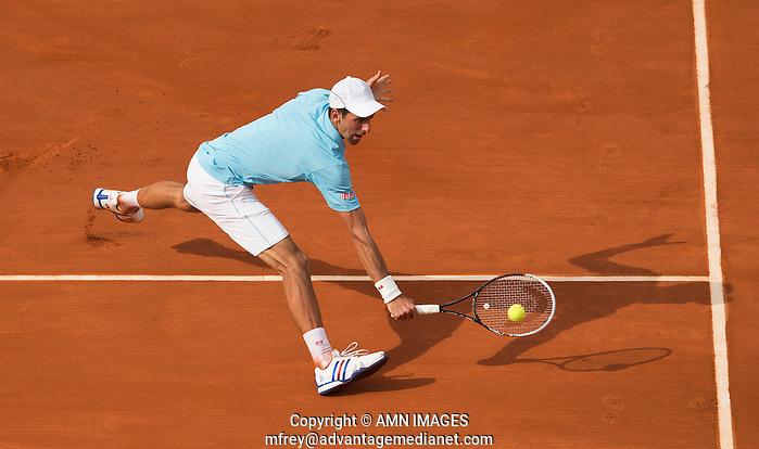 NOVAK DJOKOVIC (SRB) Tennis - French Open 2014 -  Roland Garros - Paris -  ATP-WTA - ITF - 2014  - France -  8th June 2014.  © AMN IMAGES (FREY/FREY- AMN Images)